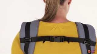 Love&Carry AIR baby carrier. Front carry instructions