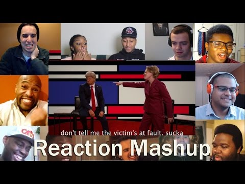 Donald Trump vs Hillary Clinton   Epic Rap Battle of History REACTION MASHUP