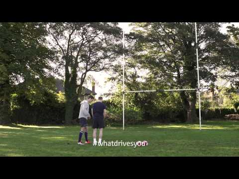 Johnny Sexton coaches Stephen Cluxton - #WhatDrivesYou