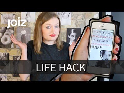 so bekommst du dein verlorenes handy wieder life hack youtube. Black Bedroom Furniture Sets. Home Design Ideas