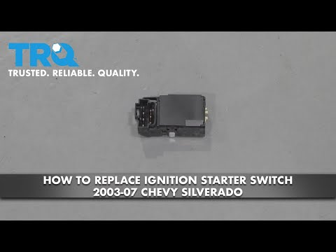 How to Replace Ignition Starter Switch 2003-07 Chevy Silverado