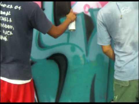 Graffiti Expo #1 2006 (Panama University)