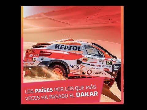 Estos son los países que más veces han recibido el Rally Dakar