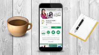 A walkthrough to STUDY AT HOME Android App | for CA, CS & CMA