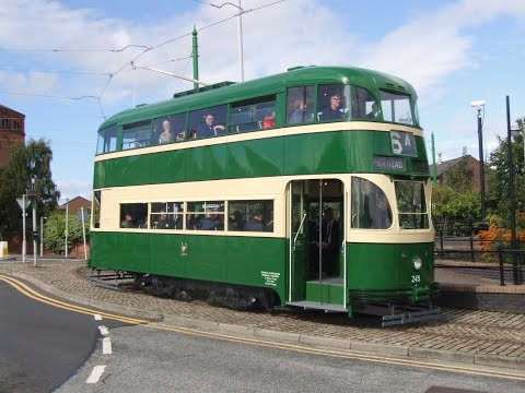 Birkenhead Tramway: The return of Baby Grand 245 (Saturday 12th September 2015)