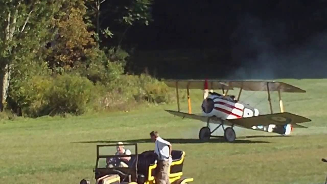 Vintage Sopwith Camel Crashes On Takeoff At Old Rhinebeck Airshow