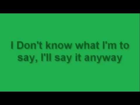A1  Take on Me Lyrics