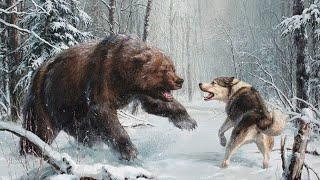 Лайка (Тихо падал пушистый снег) Песня про преданную собаку (Случай на охоте) под гитару