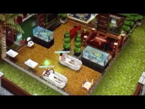 The Sims Freeplay Princess Buttercup & Wesley Secluded Home - YouTube