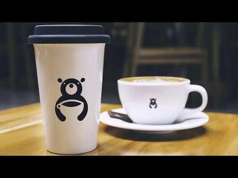 Free Logo | Bear Cafe Logo Design | Illustrator tutorial thumbnail