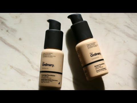 The Ordinary Review: Foundations + Their Luxury Dupes!