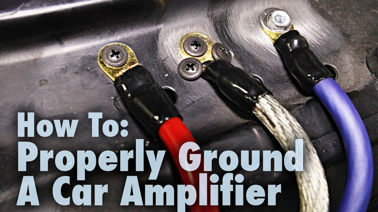 hight resolution of how to properly ground a car amplifier good bad examples car audio 101