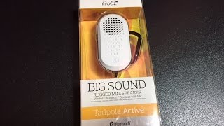 iFrogz Tappole Active Bluetooth Speaker | UNBOXING