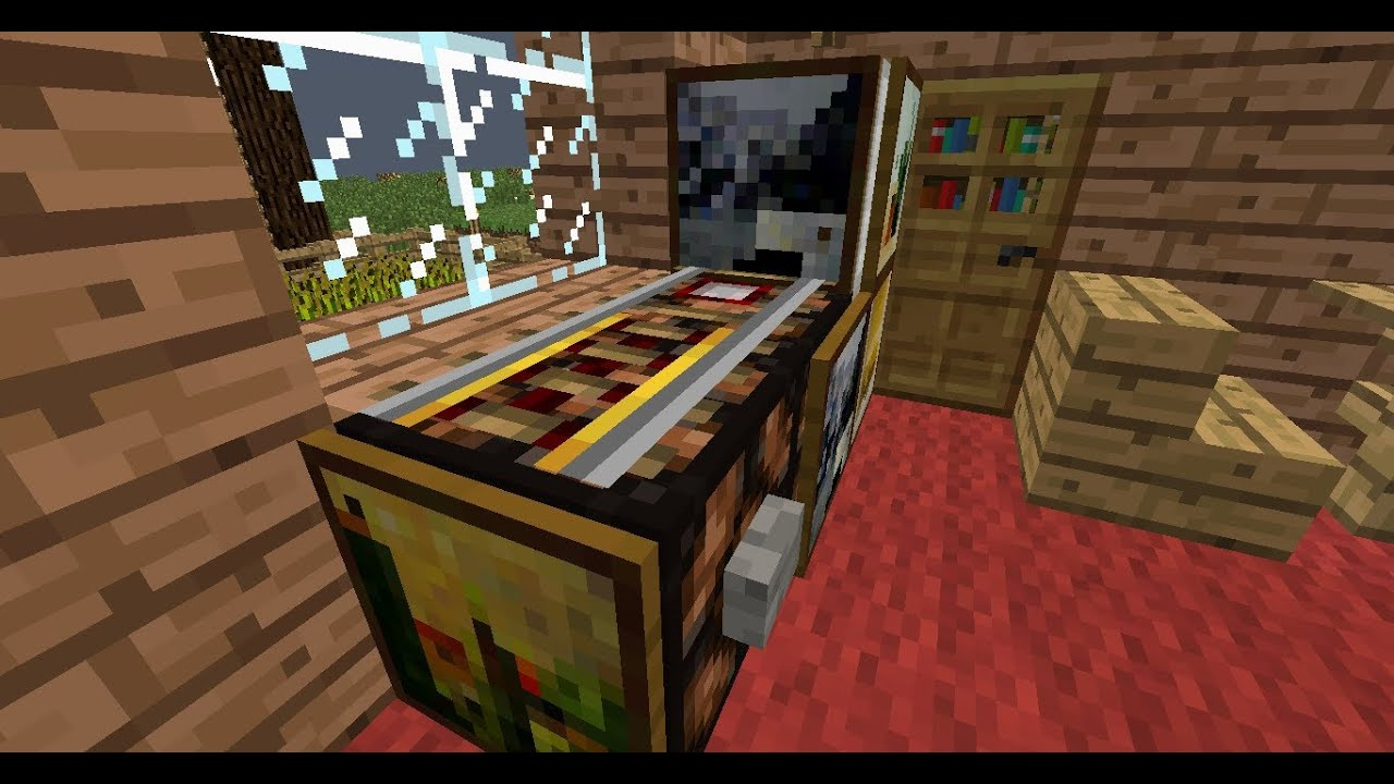 Minecraft Lets Build a Pinball Machine  YouTube