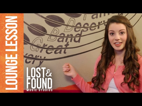 Lounge Lesson: Reading Musical Notes - Lost & Found Music Studios