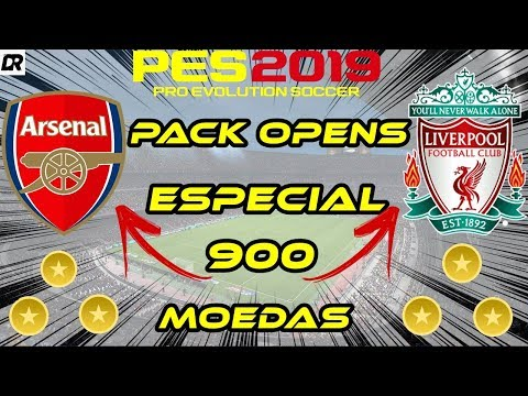 PES 2019 PACK OPEN ESPECIAL ARSENAL E LIVERPOOL - GASTAMOS 9