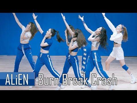 ALiEN 에일리언 | Burn Break Crash - Aanysa x Snakehips | 180920 Filmed by lEtudel