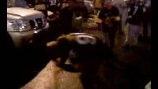 steeler fan knocked out