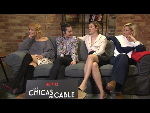 The stars of Las Chicas Del Cable discuss Spain's