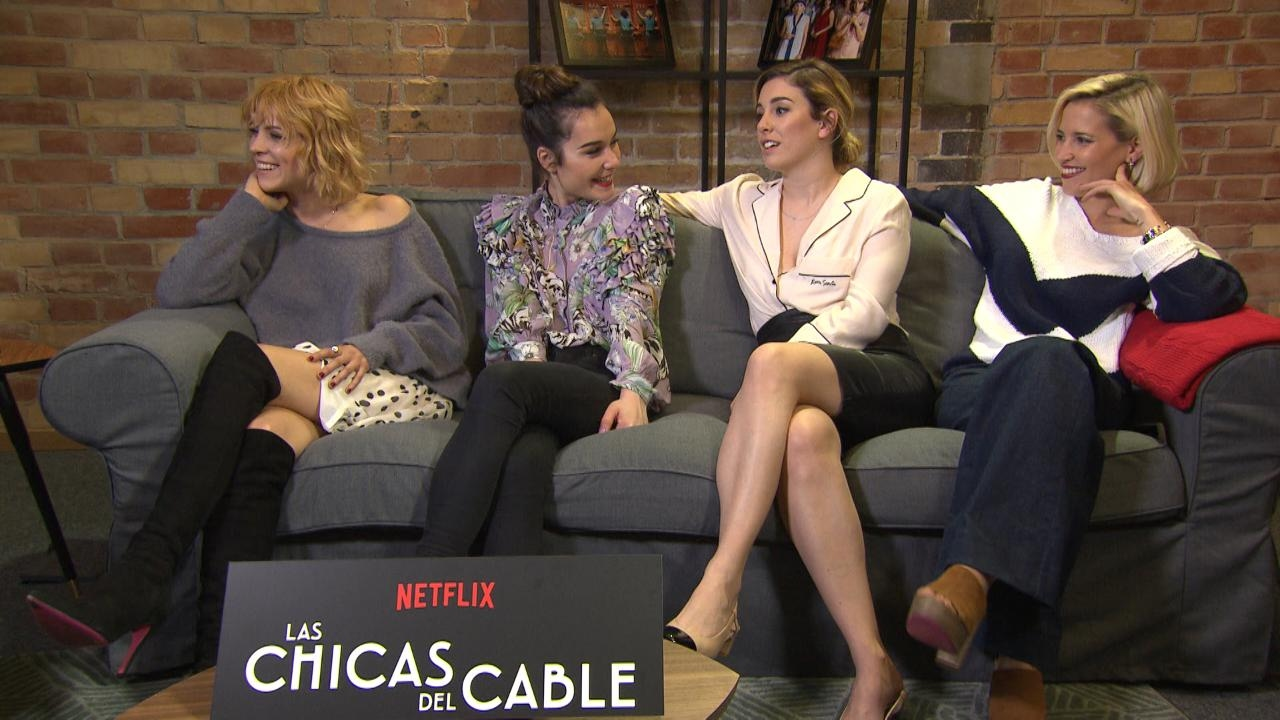 The Stars Of Las Chicas Del Cable Discuss Spains Seductive First