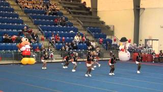 Park Lane Elementary (lawton OK) cheerleaders, competition Newcastle, OK 11 dec. 2011