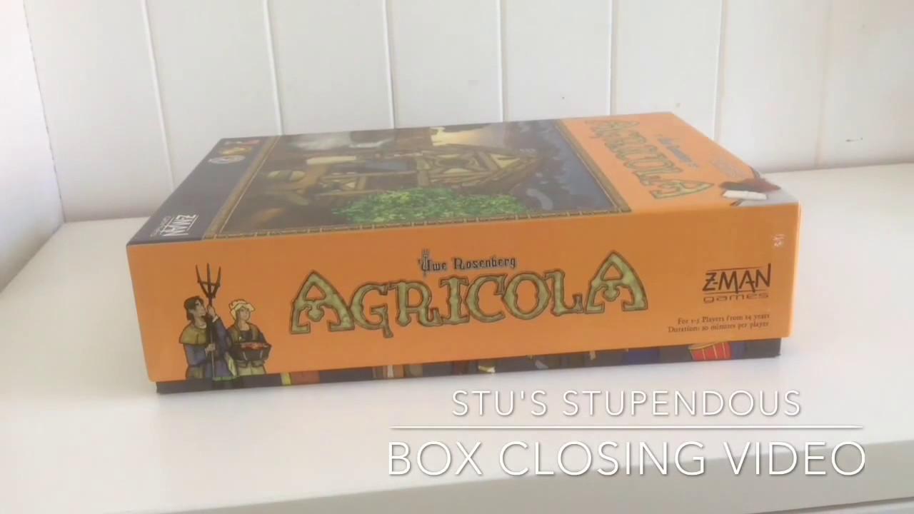 Stu's Stupendous Box Closing Video