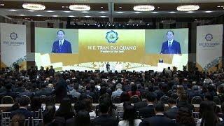 Chủ tịch nước Trần Đại Quang dự và phát biểu khai mạc Hội nghị Thượng đỉnh Doanh nghiệp APEC 2017