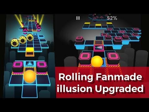 Rolling Sky - Illusion v2 (Difficulty Upgraded)