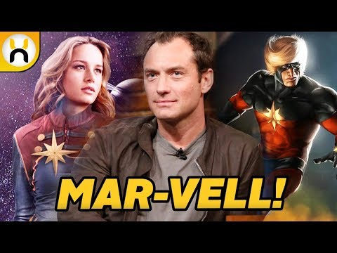 Jude Law Cast as MAR-VELL for Captain Marvel & MCU