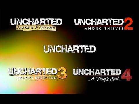 Uncharted - Todos los trailers - 1, 2, 3, 4. - HD