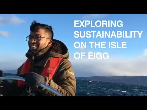Exploring Sustainable Energy on the Isle of Eigg / Somesh Dhandapani / University of Glasgow