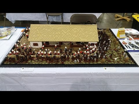 LEGO Zulu Battle of Rorke's Drift - BrickFair Virginia 2014