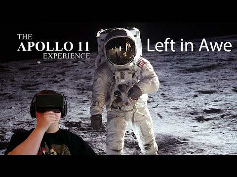 The Apollo 11 Virtual Reality Experience Demo w/Oculus Rift - Left in Awe