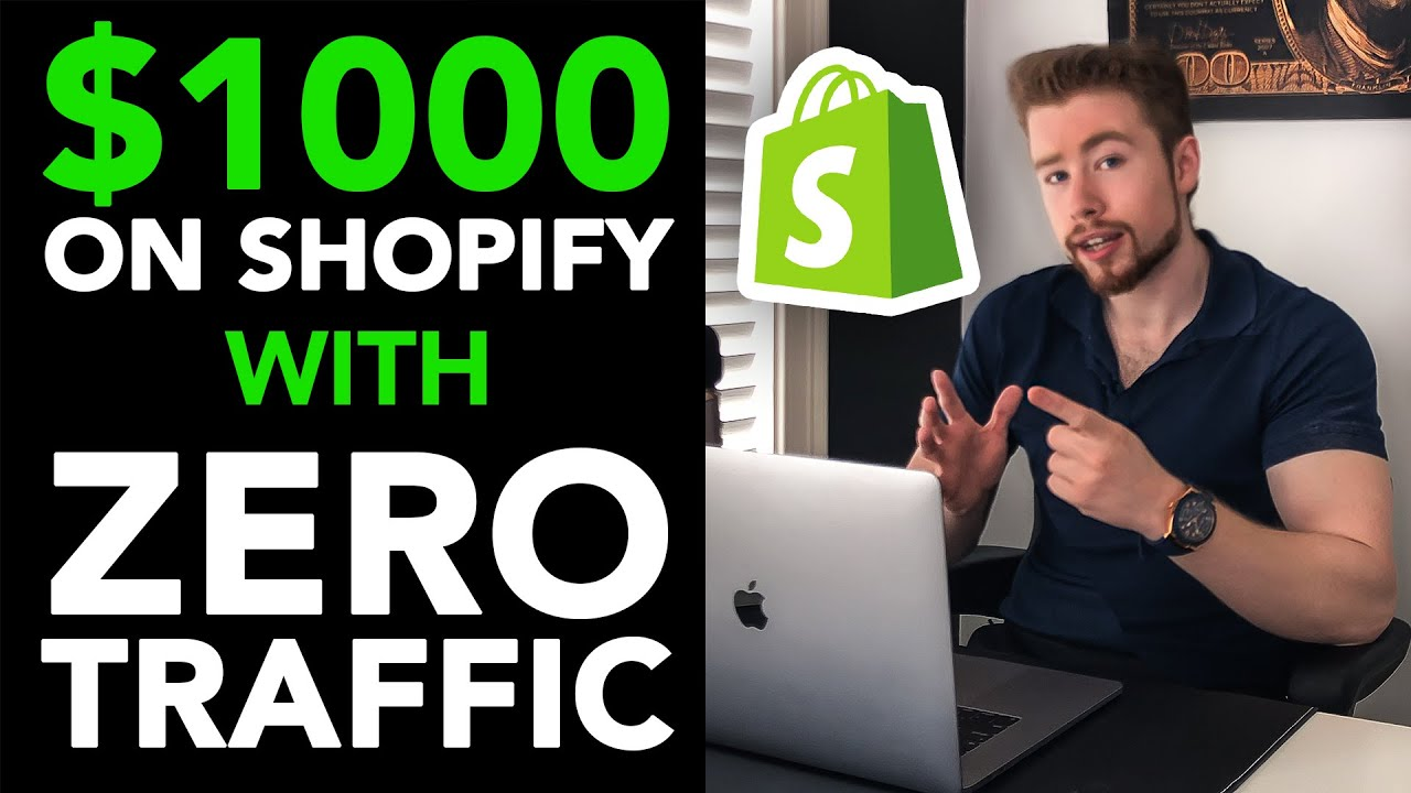 Easiest Way To Make $1000 A Day With Shopify (With ZERO Sales)