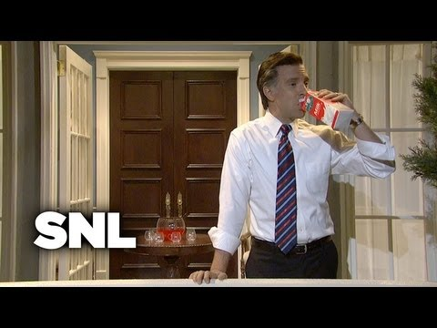 Cold Opening: Mitt Romney On a Balcony - Saturday Night Live