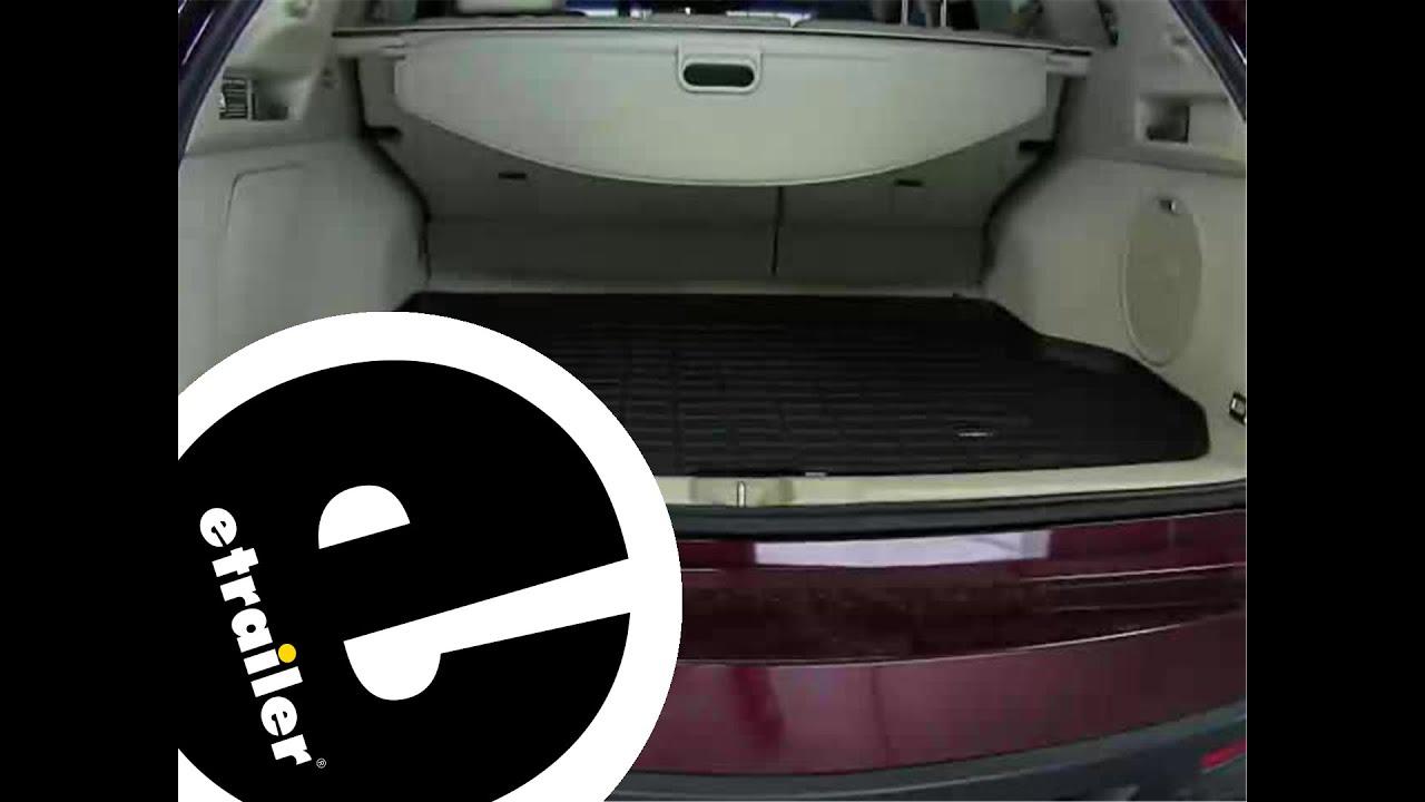 Rubber floor mats acura rdx - Review Of The Weathertech Cargo Floor Liner On A 2014 Acura Rdx Etrailer Com