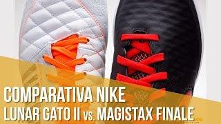 Comparativa Nike Lunar Gato II vs. MagistaX Finale