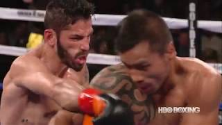 Fight highlights  Jorge Linares vs  Mercito Gesta HBO Boxing After Dark