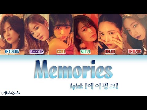 Apink (에이핑크) – Memories [기억 더하기] Color Coded Lyrics/가사 [Han|Rom|Eng]