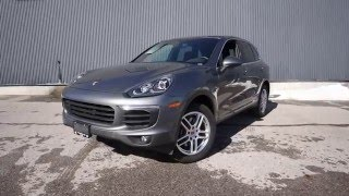 2016 Porsche Cayenne Test Drive and Review!