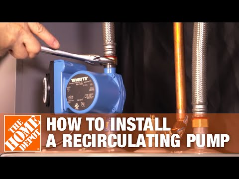 How to Install a Hot Water Recirculating Pump