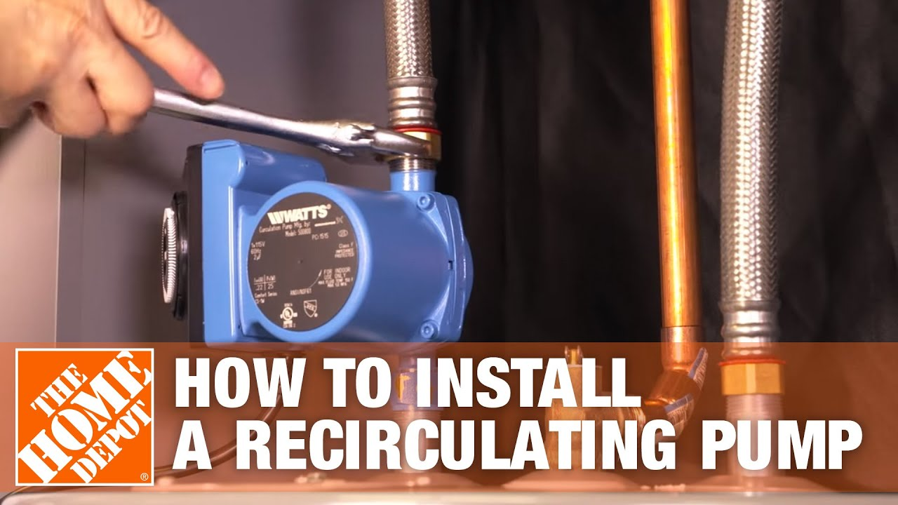 How to Install a Hot Water Recirculating System | The Home