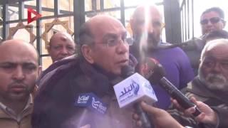 بالفيديو| دلال عبدالعزيز ونهال عنبر ومحمد عبدالقدوس يشاركون في تشييع جثمان زبيدة ثروت