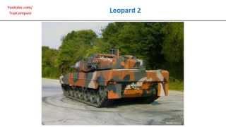altay versus leopard 2 tank performance