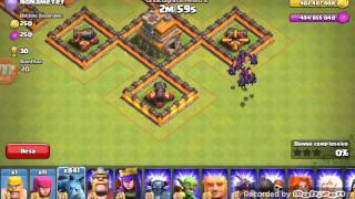 Attacchi su clash of clans fhx server ita