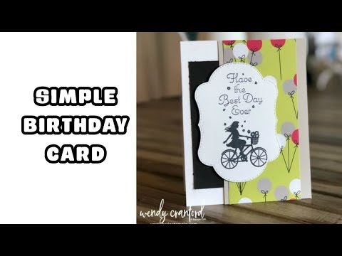 Simple Birthday Cards Facebook Live