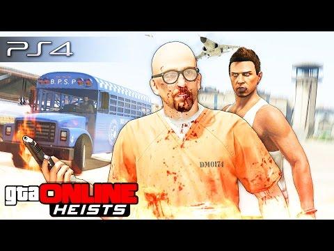 GTA 5 Online (Heists) - ПОБЕГ ИЗ ТЮРЬМЫ! #101  [ЭПИК!]