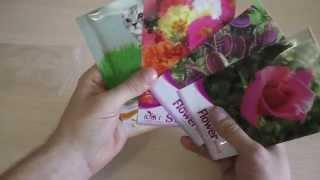 Китайские семена цветов. Распаковка(Группа Вконтакте: http://vk.com/Unboxing_And_Review Канал про нашу жизнь)): http://www.youtube.com/user/UandR2Live Хронология роста