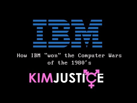 "The IBM PC 5150 and XT - How IBM ""Won"" the Computer Wars of the 1980's - Kim Justice"