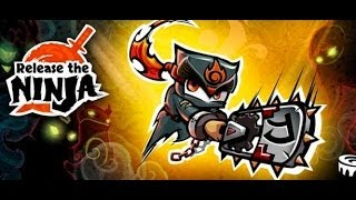 Android Platform Game Release The Ninja App Review (Gameplay)